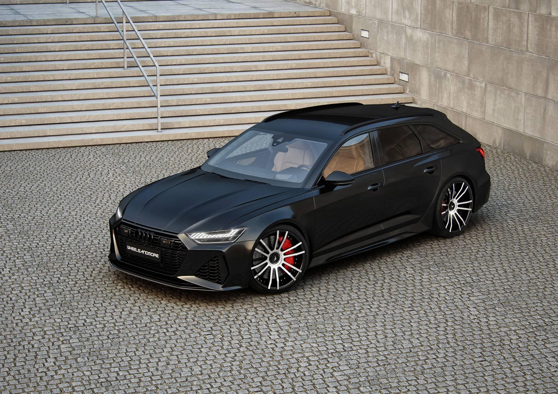 五套改装包任君选 让奥迪 RS6 Avant比布加迪更