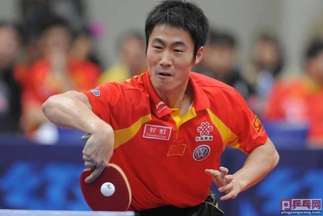 北京奥运会使用备用板第二人,王励勤比赛中途