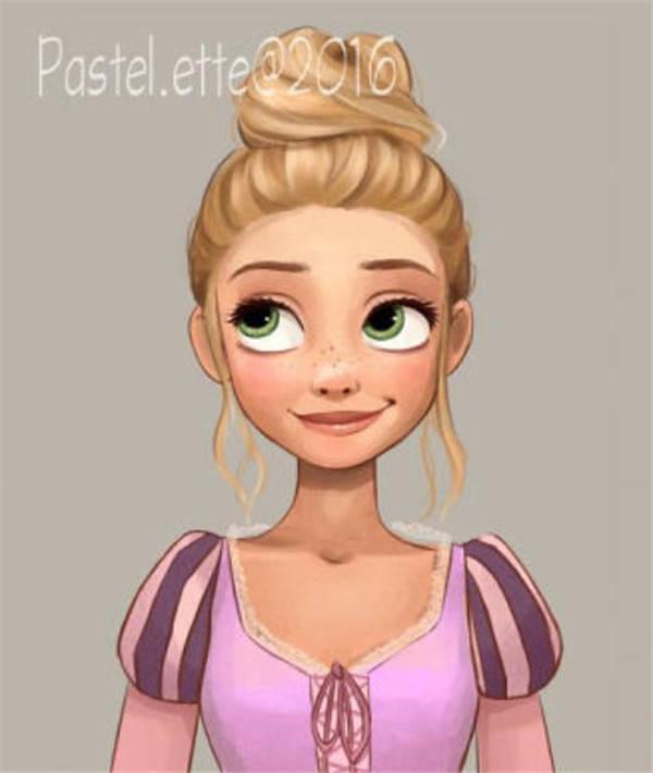 换上新发型的迪士尼公主,安娜最美,艾莎画风突变