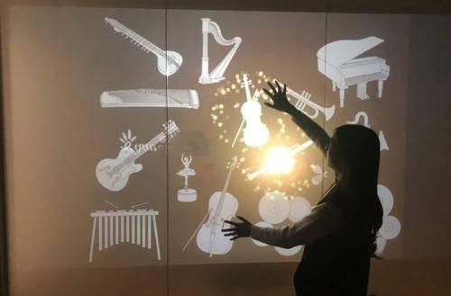 互动音乐墙