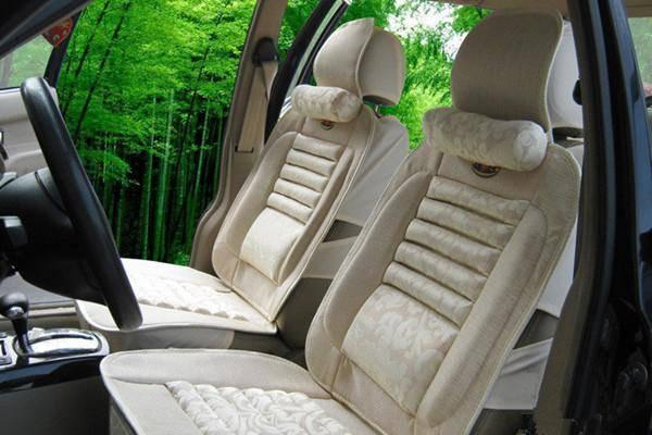 各种汽车坐垫的养护方法,根据材质来保养汽车坐垫!