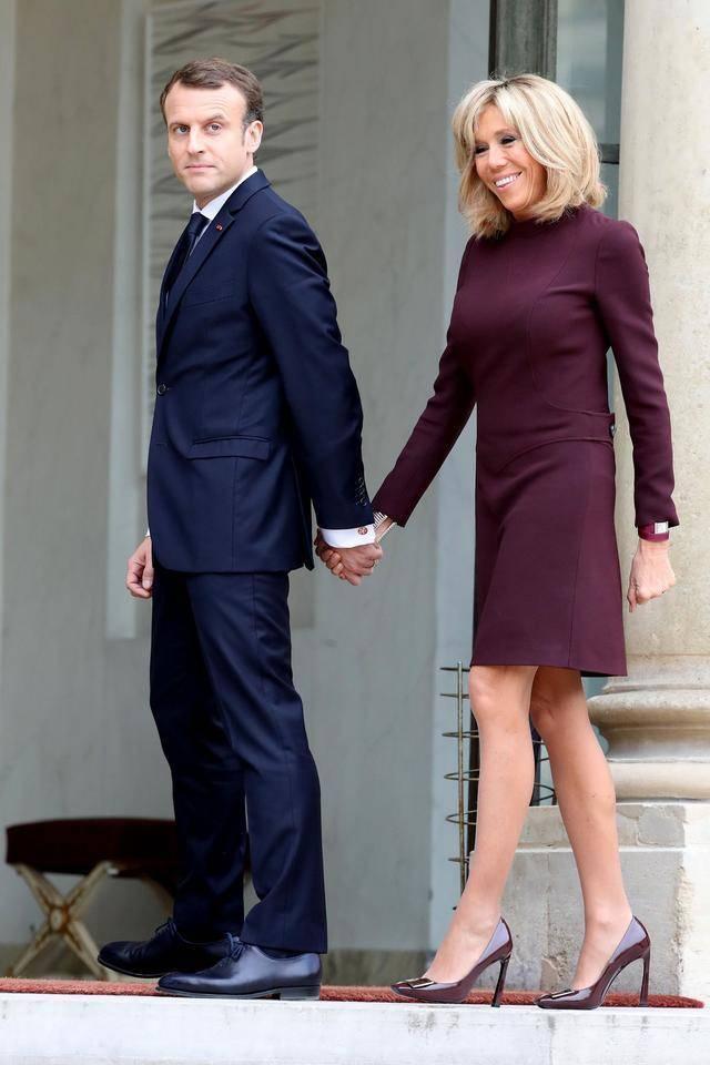「布丽」布丽吉特46年前和第一任丈夫婚纱照罕见曝光!前夫竟比马克龙都帅,