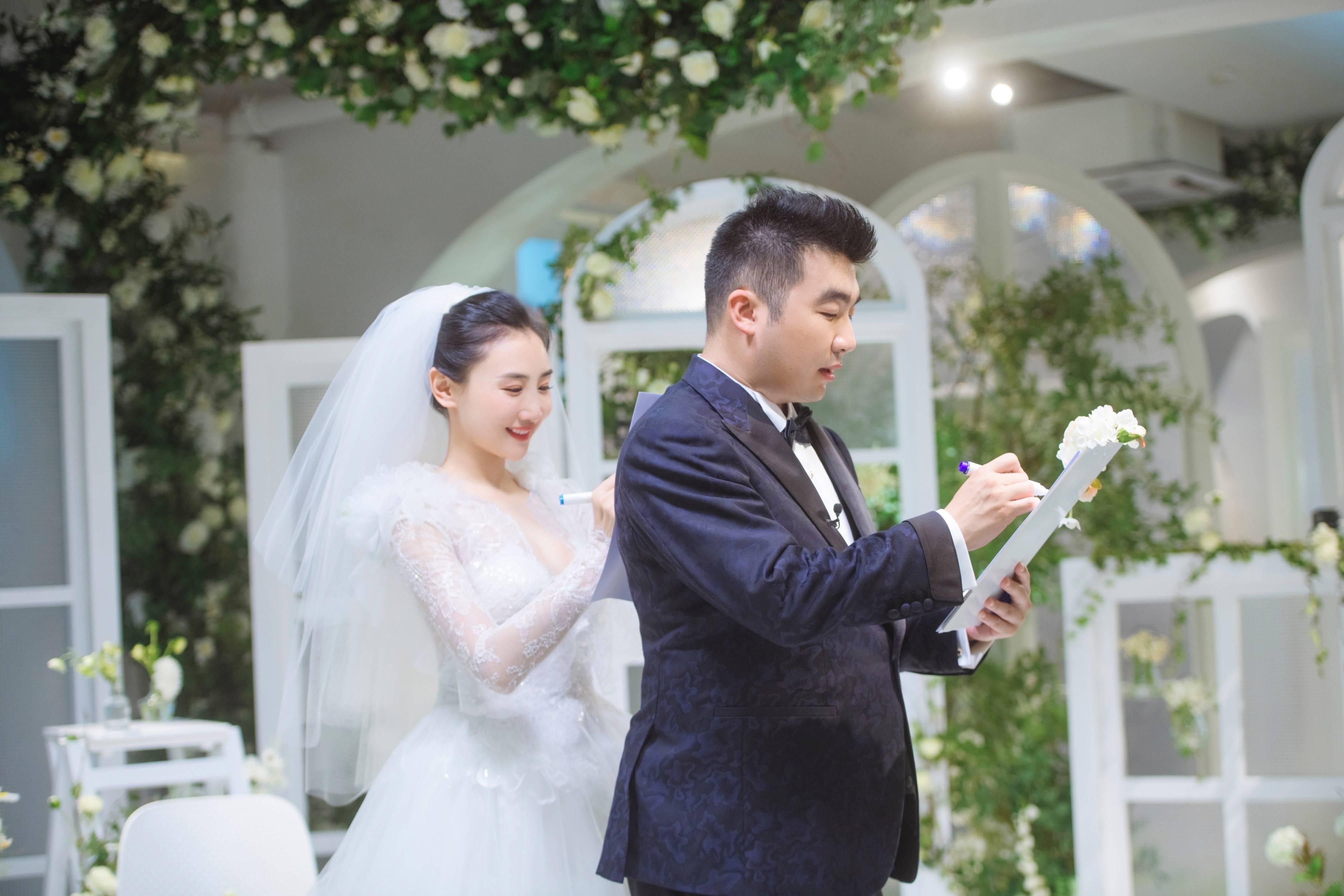 《婚前21天》李嘉铭刘泳希古风婚礼 张震倪妮等道喜