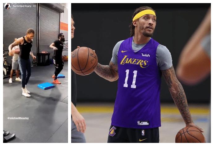 比斯利和杰拉德-格林都现身了,这两位休城旧将离开NBA有一段时间了