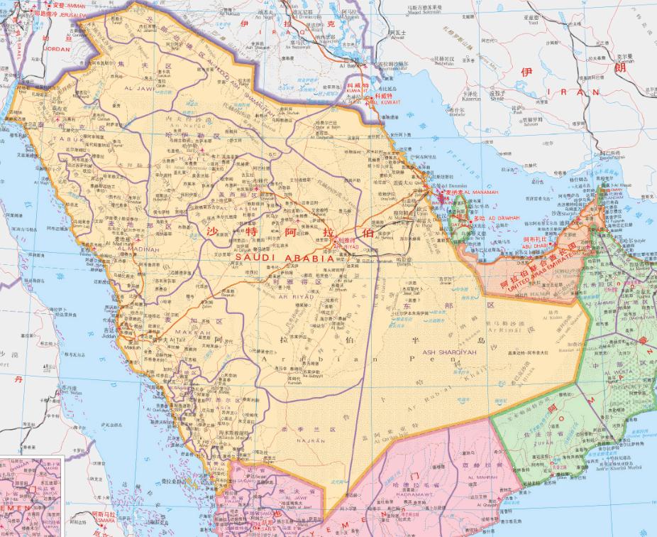 [矿业投资指南中东]沙特阿拉伯