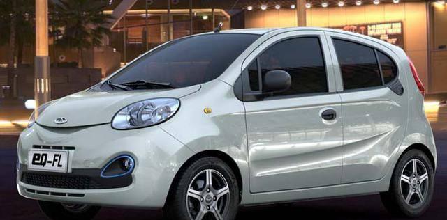 专为城市年轻人定制的奇瑞eQ开启了微型新能源汽车的新时代