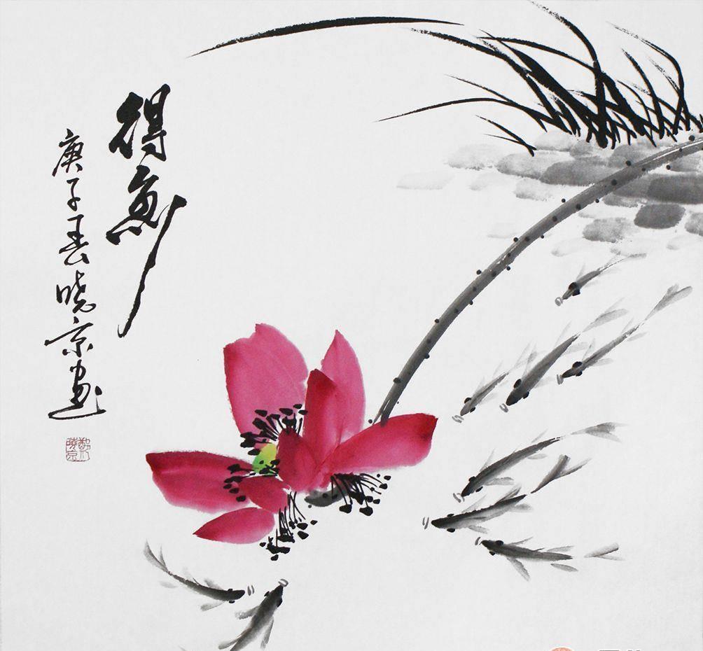 谁的画值得收藏 郑晓京新推出花鸟画作品