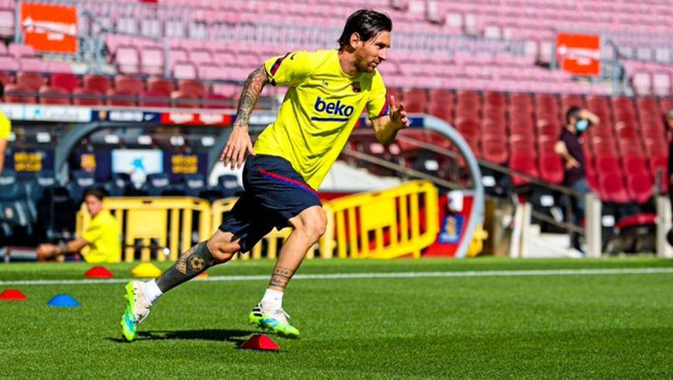 巴萨:苏亚雷斯痊愈可出战 梅西尚未参与全队合练