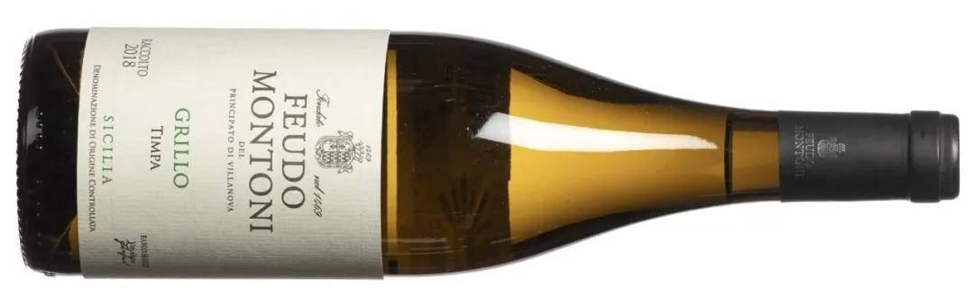 Feudo Montoni 酒庄西西里格里洛廷帕(Sicily Grillo Timpa) 干白2018年份