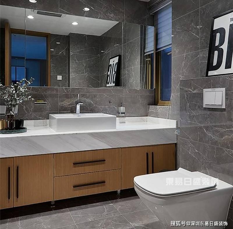 现在的卫生间基本上都是干湿分离,也就是说,马桶,洗手台与淋浴分开.图片