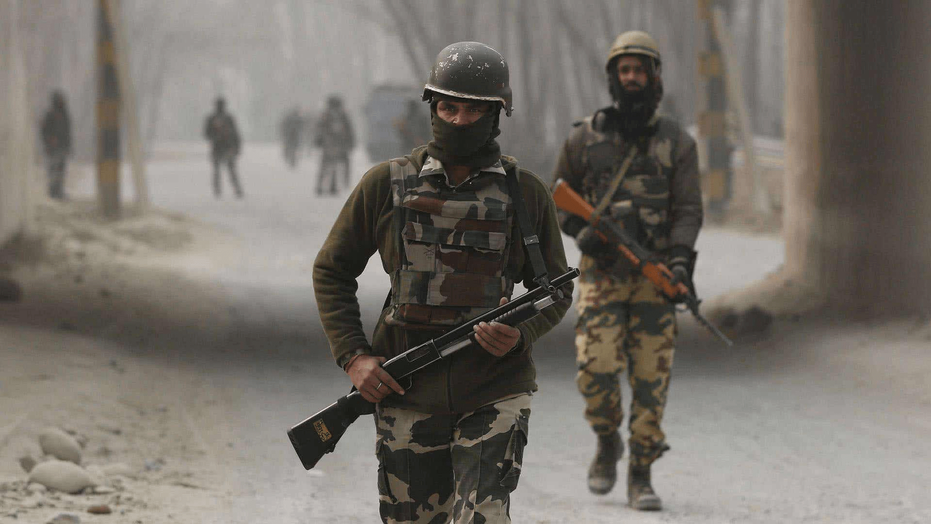 印度边境士兵