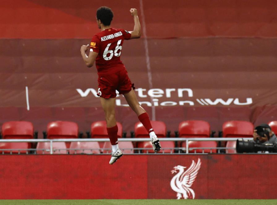 原创             4-0!利物浦距离30年纪录仅一步之遥:最快24小时后问鼎英超冠军!