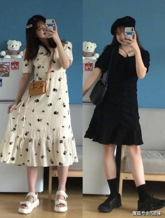 原创             微胖女生选裙子,记住这几点,上身又瘦又美,轻松穿出女神范