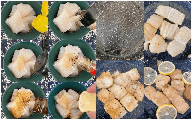 倩狐减肥食谱:夏日香煎低脂柠檬鱼,超嫩滑的鱼肉好吃不胖! 减肥方法 第2张