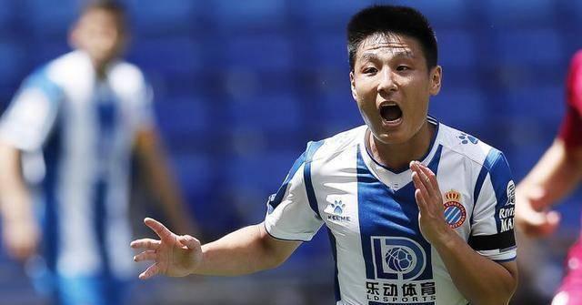 中国球员武磊效力的西班牙人队在客场1-2皇家社会