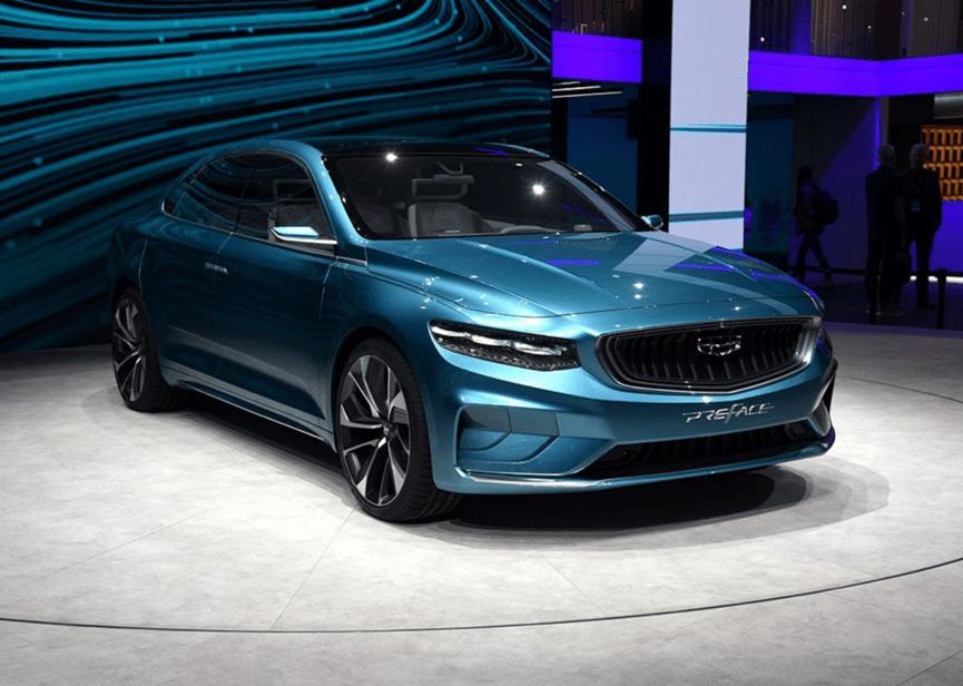 吉利Preface量产版前瞻,CMA架构打造,定位A+级轿车