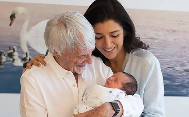 89岁F1前总裁和44岁娇妻生下第一个儿子仍不满足:90岁要再生一个