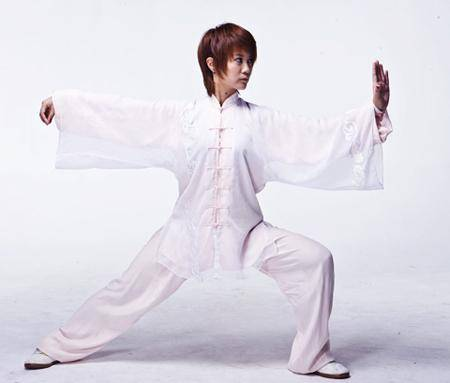 """太极也可以很时尚,最美武术冠军马畅想打造中国的""""瑜伽"""""""