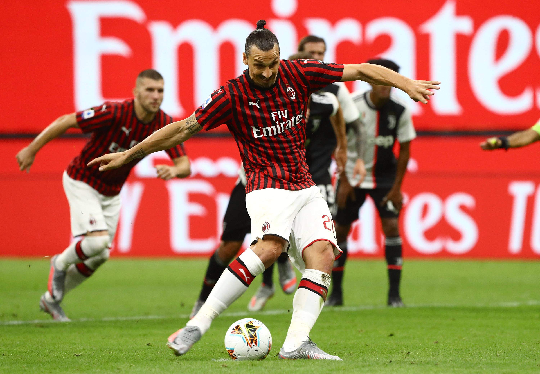 米兰时隔四年首次联赛击败尤文 伊布9次首发造8球