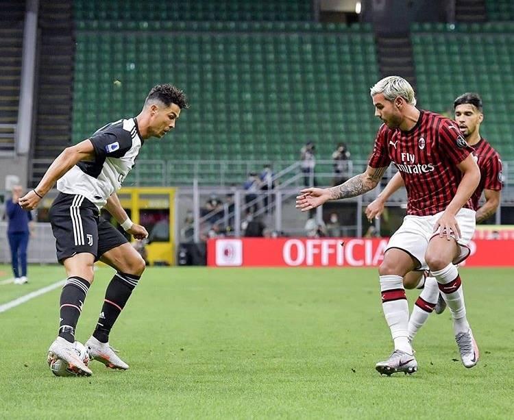 原创            耻辱!尤文18分钟被AC米兰连进4球逆转,C罗跟伊布的表情亮了