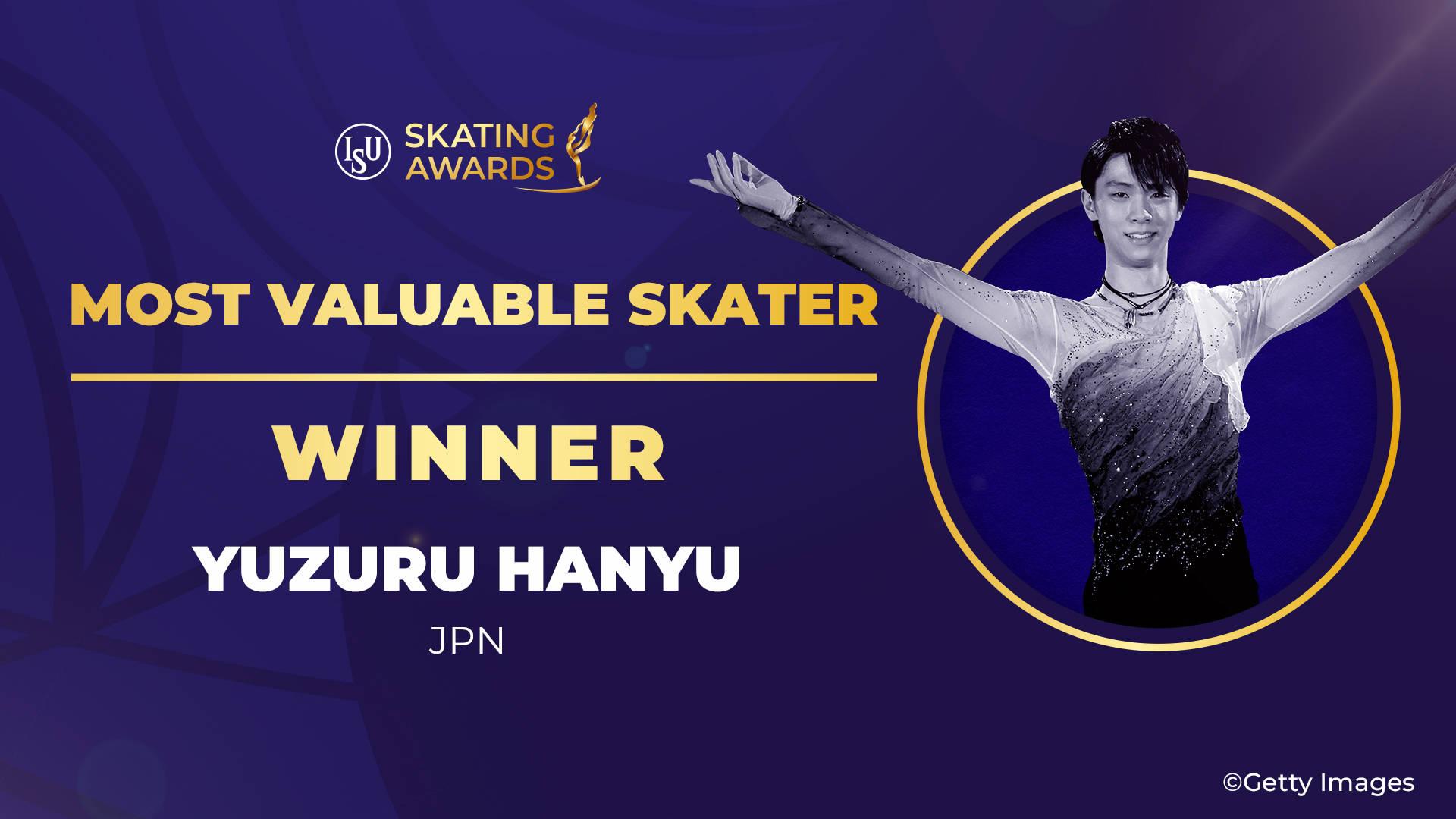 羽生結弦獲國際滑聯賽季MVP 俄羅斯新星當選最佳新人