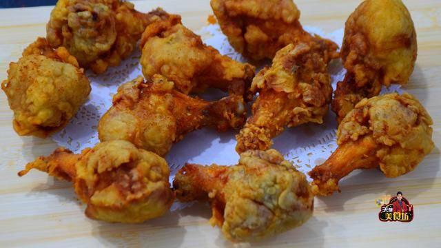 原创想吃炸鸡腿别去快餐店吃了,教你做外酥里嫩的炸鸡腿,做法很简单
