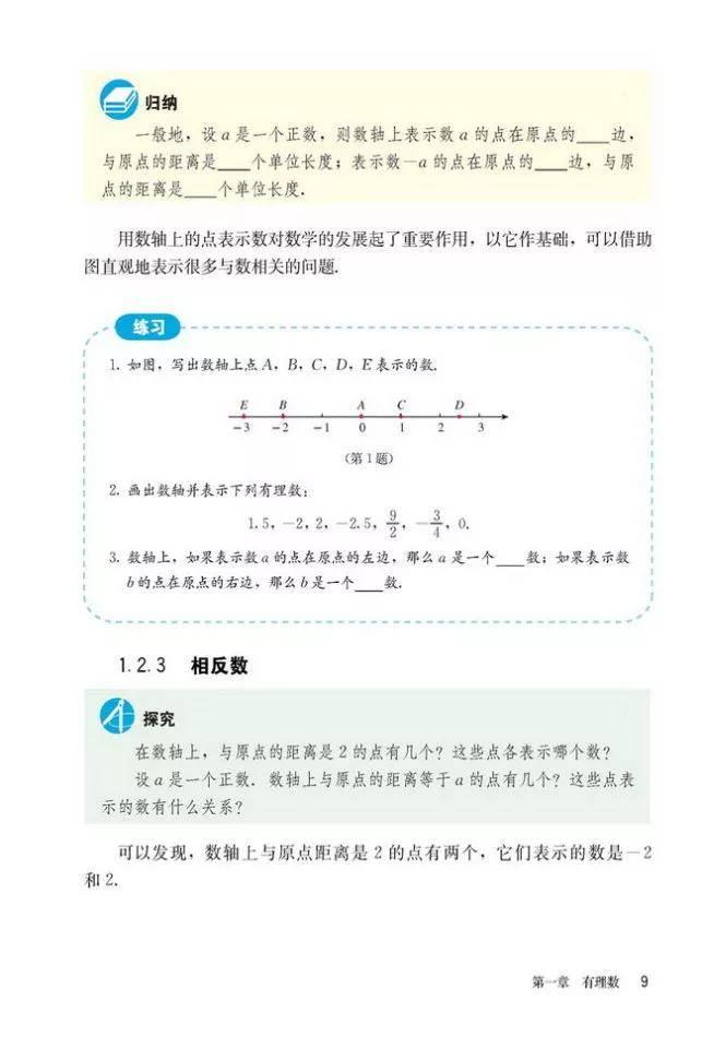 人教版初中数学七年级上册|电子课本(高清版)(图15)