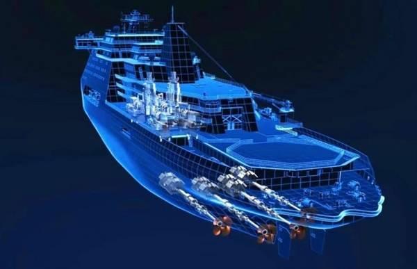 俄罗斯开工建造最强破冰船排水量69700吨秒破冰4米