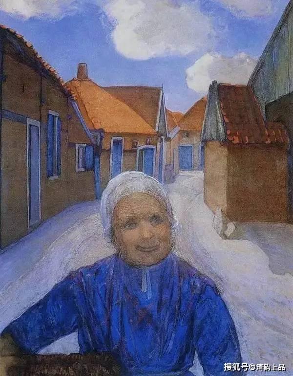 现代画家王蒙_几何抽象画派的先驱,荷兰画家,蒙德里安油画作品欣赏_风格