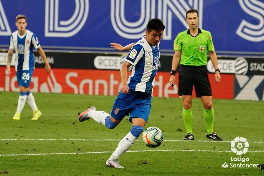 西甲-武磊首发助攻被吹 西班牙人0-0平终结8连败