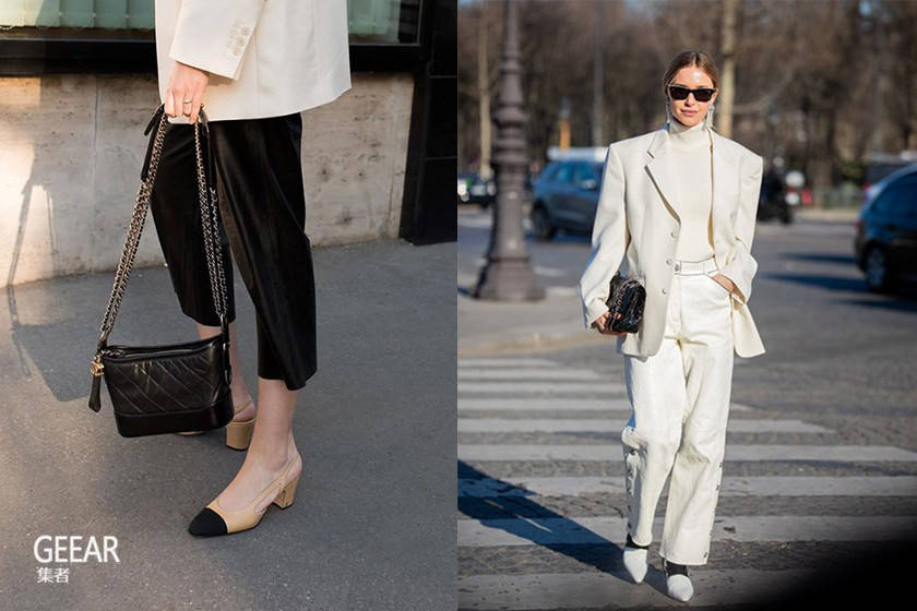 Chanel首家鞋履专卖店,女生抢着入手这款经典双色鞋?