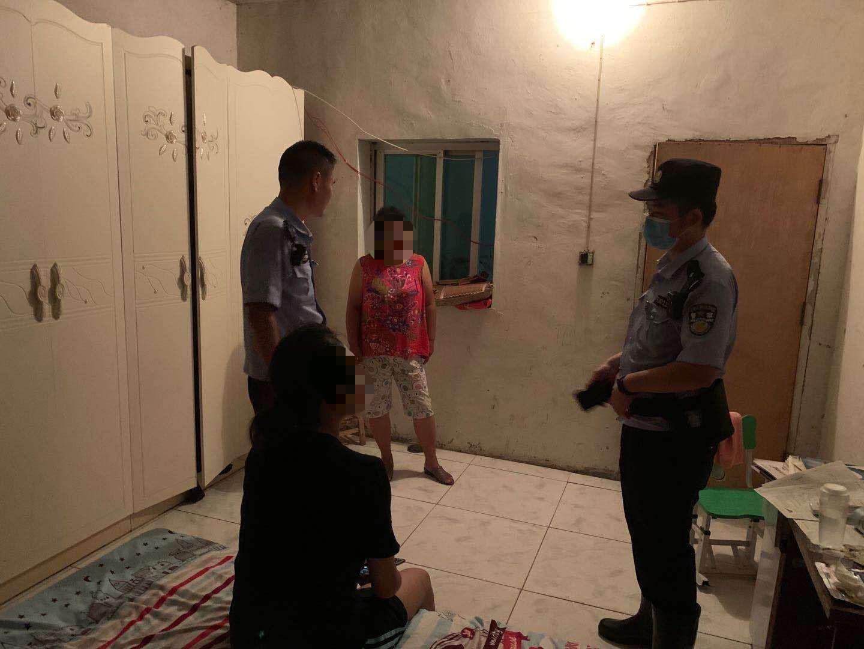 枣阳民警深夜劝回离家少女