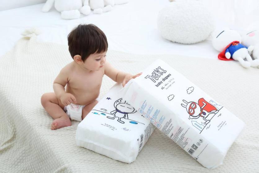 Tuzki兔斯基纸尿裤,让宝宝毫无负担!