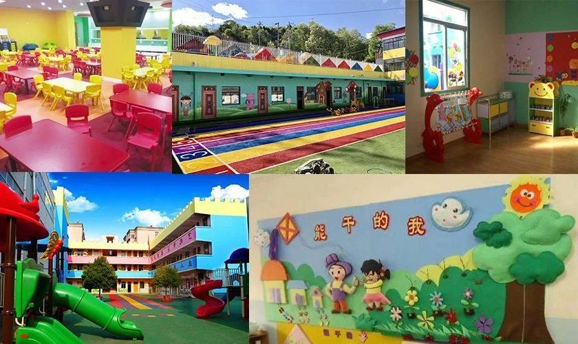 日本幼儿园设计完胜中国,五颜六色的设