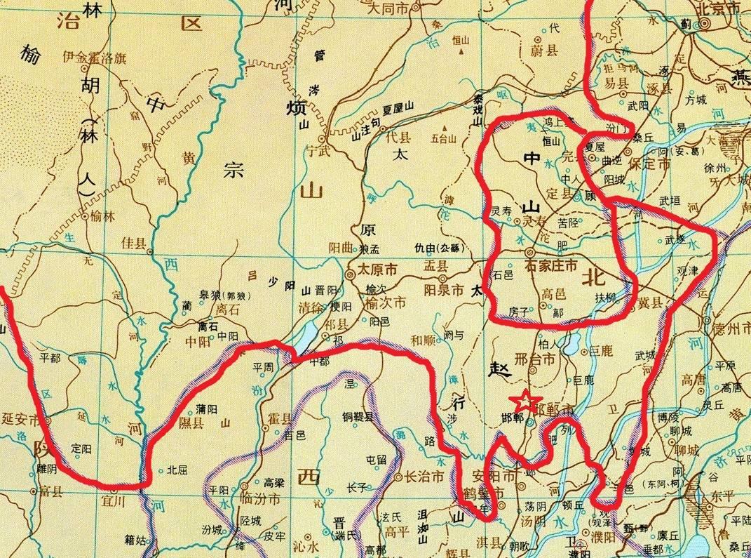 战国七雄人口与面积_战国七雄其实是战国六雄,韩国根本算不上战国时期的强国