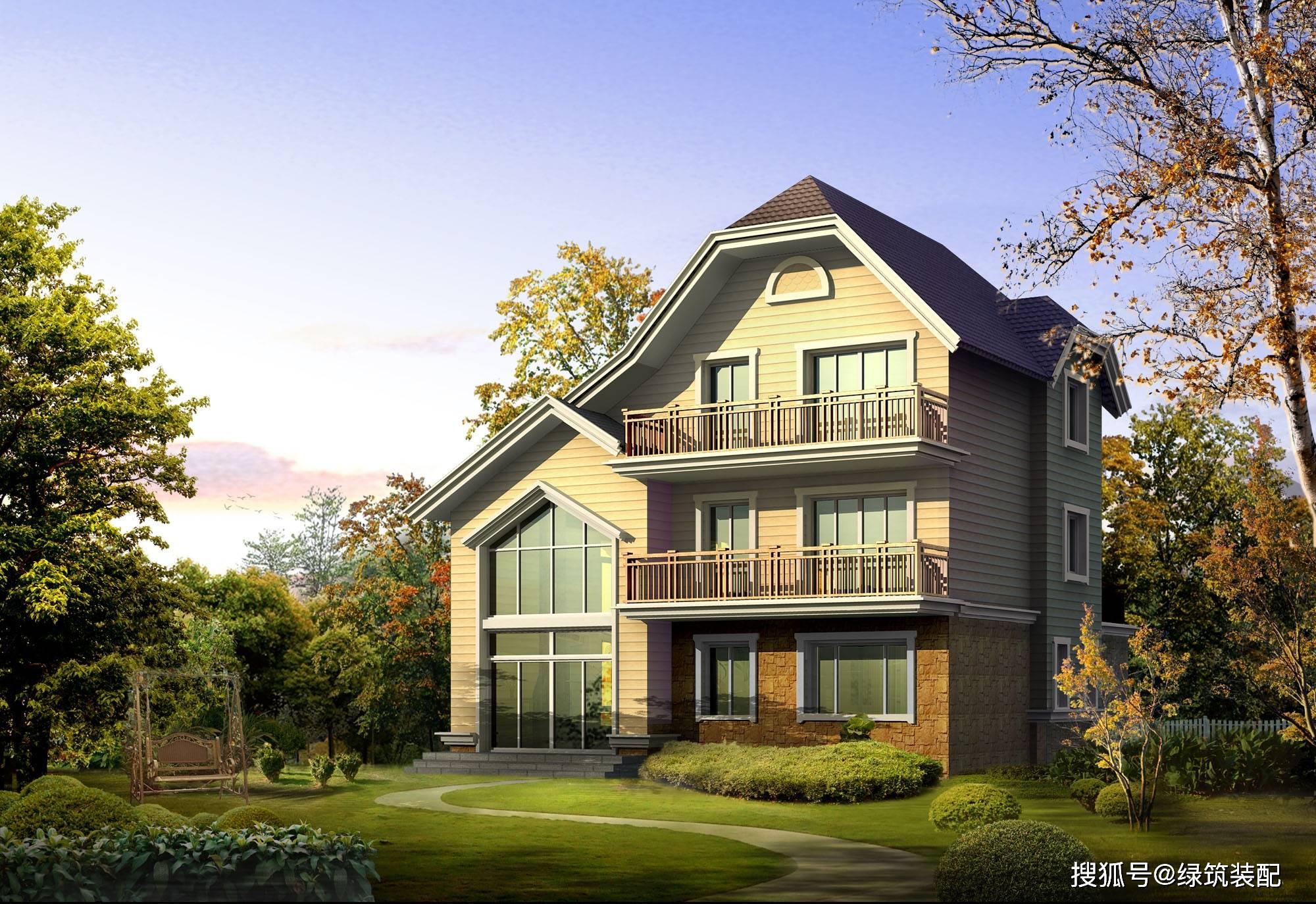 三层别墅设计图纸及效果图 三层别墅图片大全 农村三层别墅平面户型图