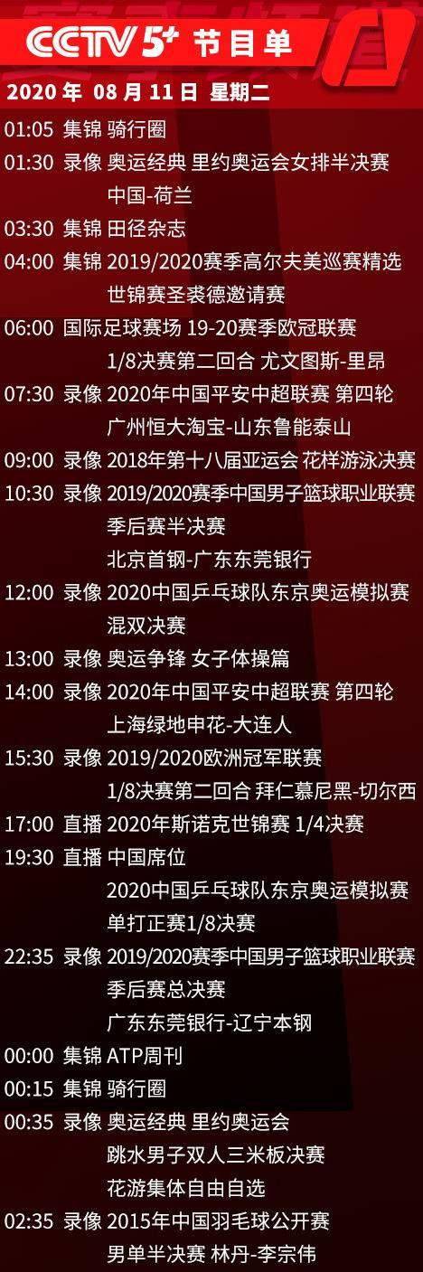 今日央视节目,CCTV5直播CBA辽宁篮球VS广东