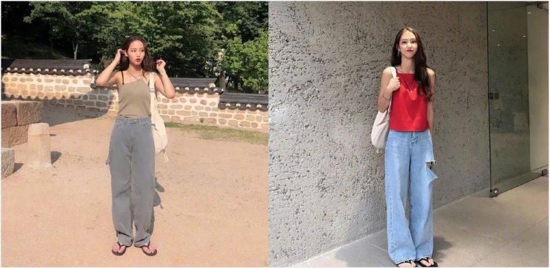 12套拉长身材比例造型搭配推荐,让你视觉显高十公分!
