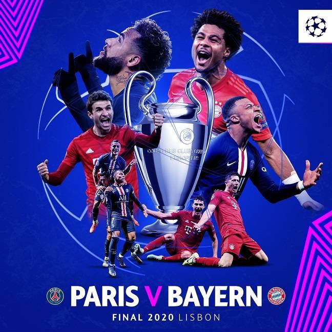 欧冠决赛对位:巴黎双星PK莱万穆勒 防守定成败