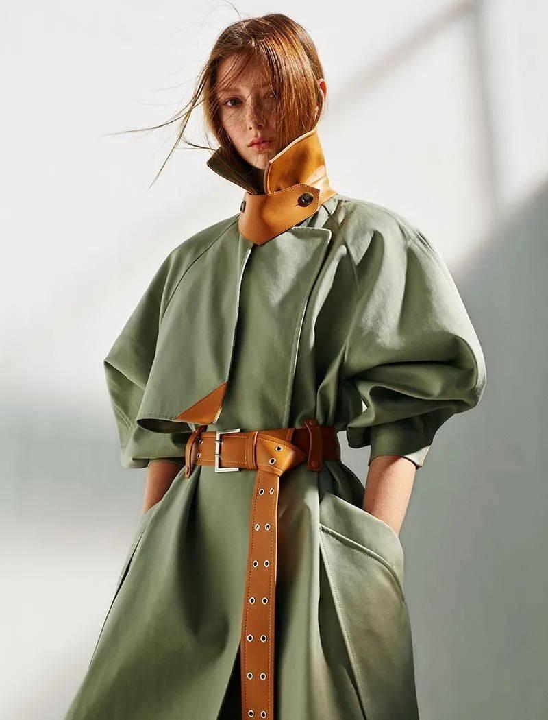 秋季风衣流行趋势,看完才知道这件最美!