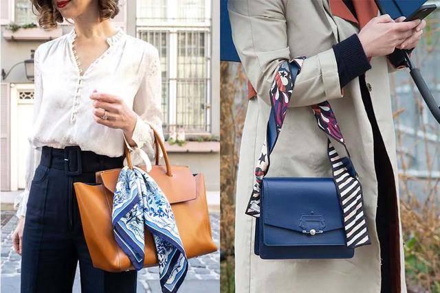 原创             一条丝巾变性感Top,套件西装能装酷,打造不同造型性价比实在高