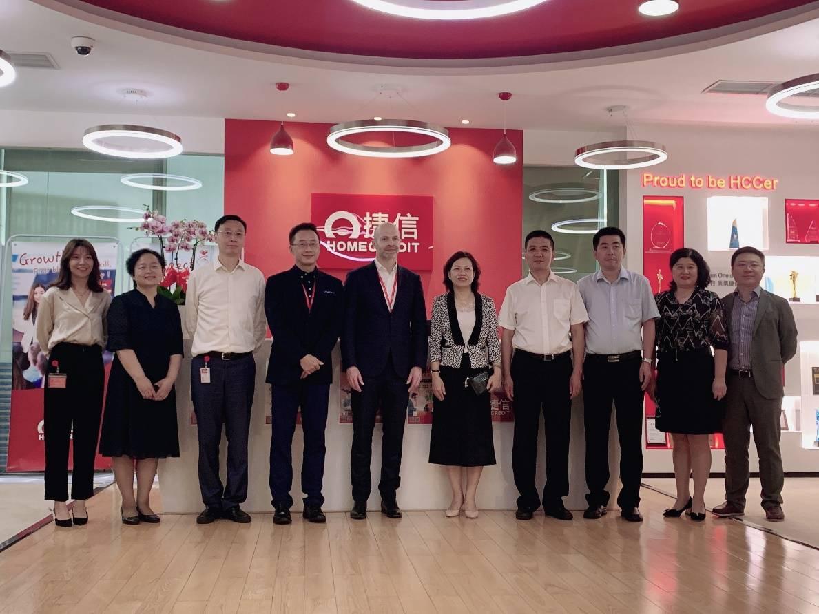 捷信与建行天津分行签署战略合作协议 实现互利发展共赢