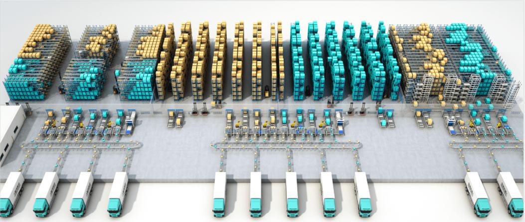 劢微机器人  智能物流解决方案助推行业转型升级!(图2)
