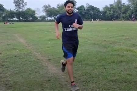 大叔跑步减肥,1个月跑步150公里,看跑步的减肥效果怎么样?_身材