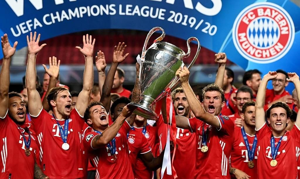 德甲34轮打进100球,欧冠赛场更是不乏7:2热刺