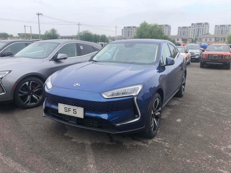 2020北京车展探馆 | 百公里加速4.8秒,赛力斯SF5实车亮相