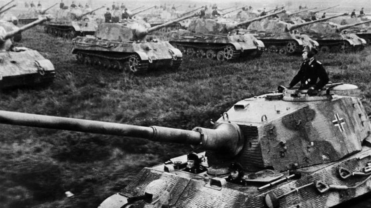 坦克也能玩防空,德军思路清奇变废为宝