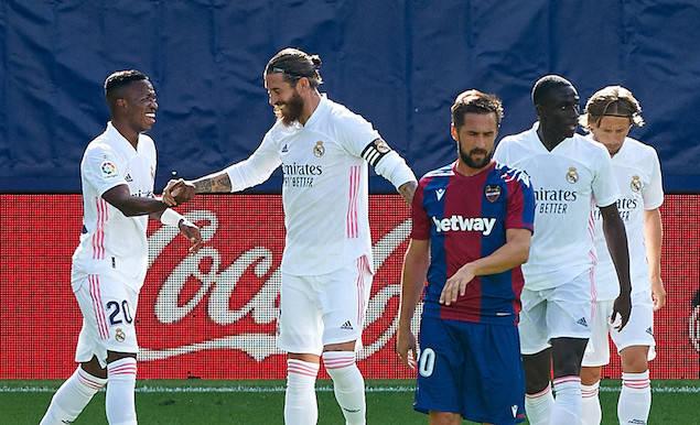 卫冕冠军皇家马德里做客瓦伦西亚城市球场挑战莱万特