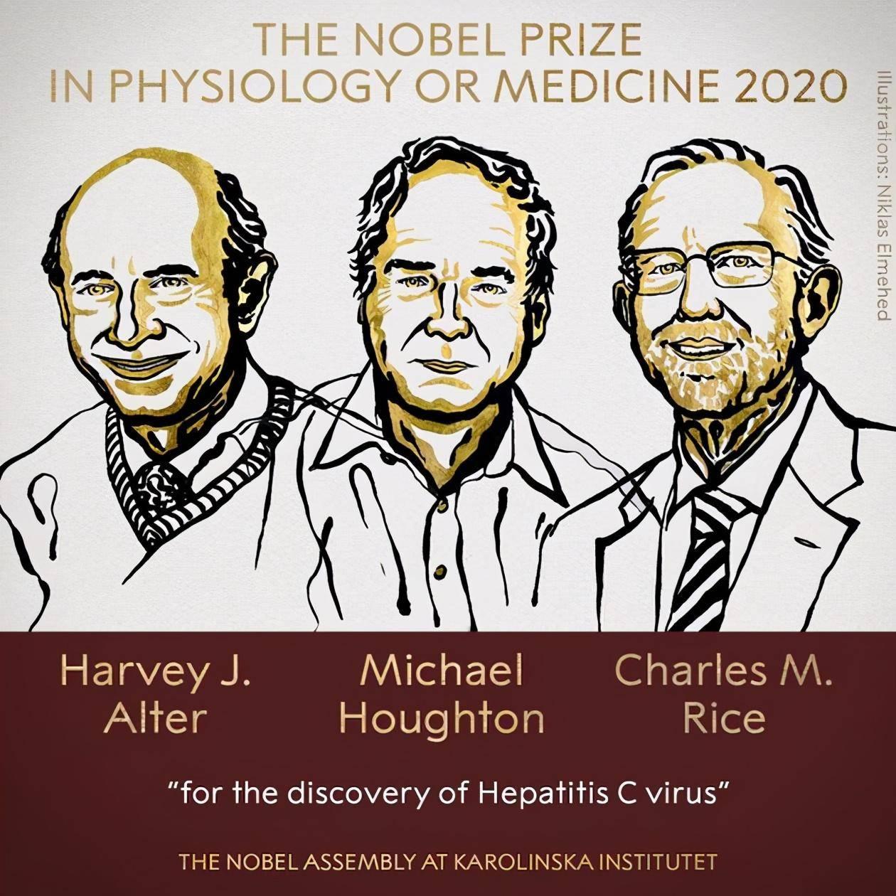 2020年诺贝尔医学奖揭晓:他们凭什么获奖,就能拯救百万人的生命
