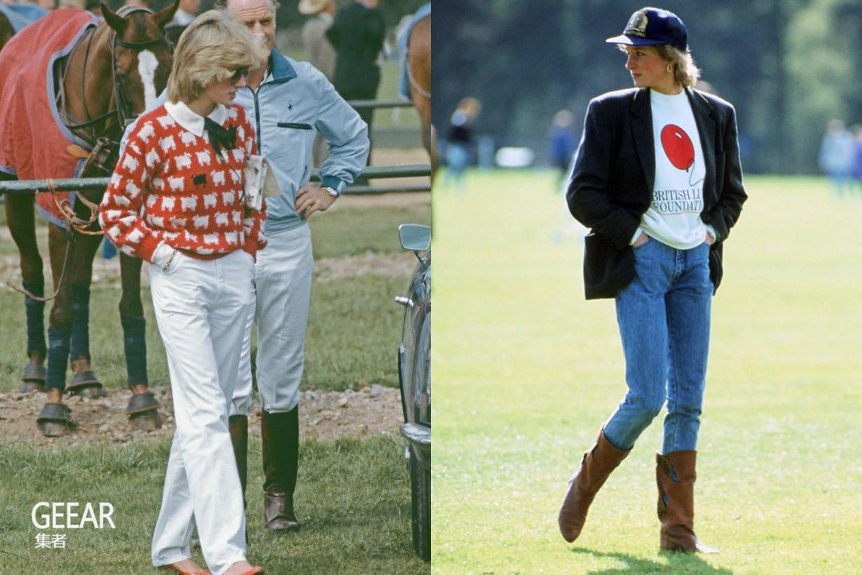 戴安娜王妃身上已停产的经典单品,找回当年品牌复刻重现!
